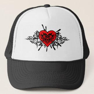 Tribal_Heart design Trucker Hat