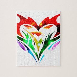 Tribal Heart Puzzles