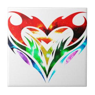Tribal Heart Tile