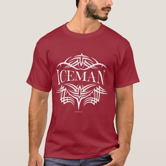 Tribal Hockey Iceman (plain) T-Shirt