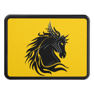 Tribal Horse Head Trailer Hitch Cover