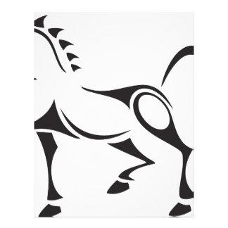 Tribal-Horse Letterhead