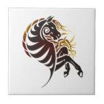 Tribal Horse Tile