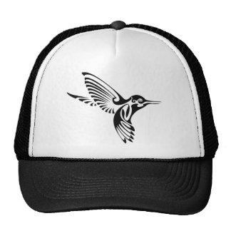 Tribal Hummingbird Silhouette Trucker Hat