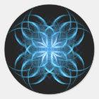 Tribal Ice ~ Fractal Sticker