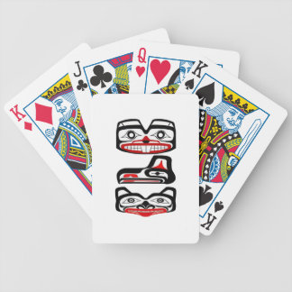 Tribal Identity Bicycle Playing Cards