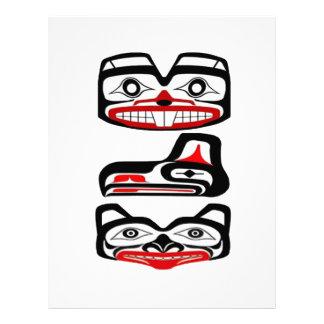 Tribal Identity Letterhead
