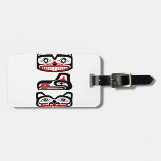 Tribal Identity Luggage Tag