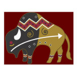 Tribal Indian Buffalo Post Cards