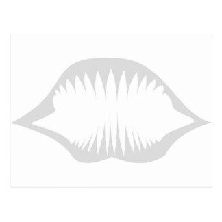 Tribal Jaws Postcard