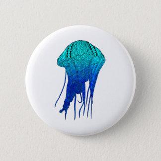 Tribal Jellyfish 2 Inch Round Button
