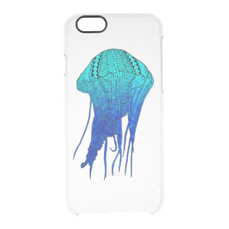Tribal Jellyfish Clear iPhone 6/6S Case