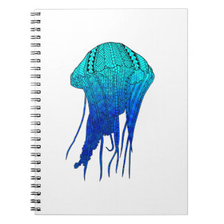 Tribal Jellyfish Notebook