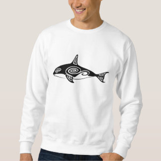 Tribal Killer Whale Sweatshirt