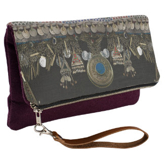 Tribal Kuchi Belly Dance Clutch