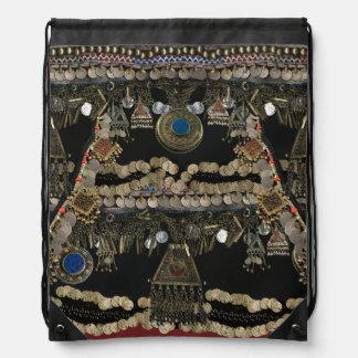 Tribal Kuchi Belly Dance Drawstring Bag