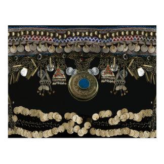 Tribal Kuchi Belly Dance Postcard
