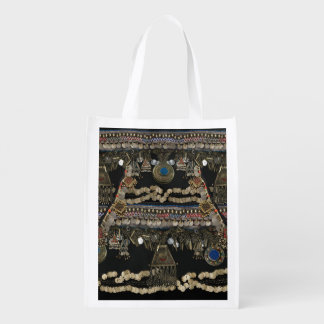 Tribal Kuchi Belly Dance Reusable Grocery Bag