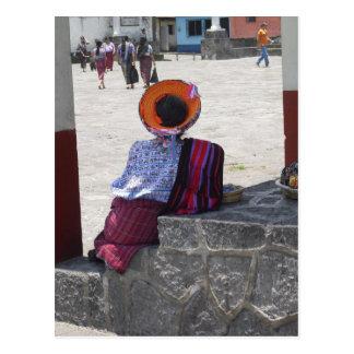 Tribal Lady Postcard