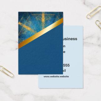 Tribal mandala and medium blue 10 card