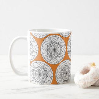 Tribal Mandala Customizable Mug