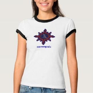 Tribal Maroon T-Shirt
