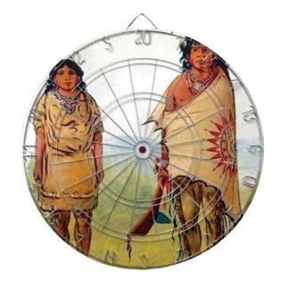 tribal marriage dartboard