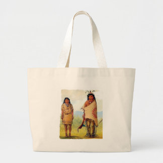 tribal marriage large tote bag