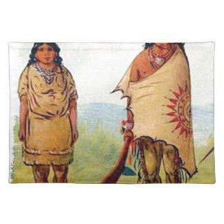 tribal marriage placemat