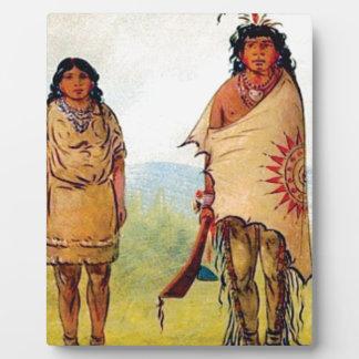 tribal marriage plaque