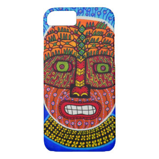 Tribal Mask 2 iPhone 7 Case