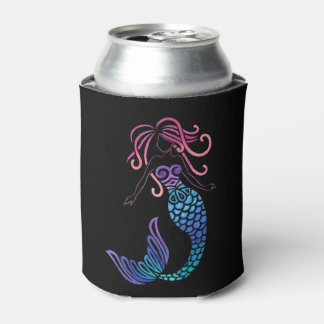 Tribal Mermaid Can Cooler