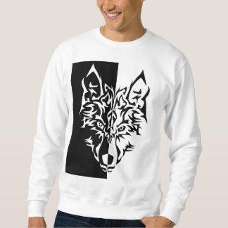 Tribal Modern Wolf Sweatshirt