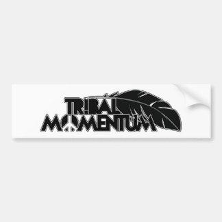 Tribal Momentum Bumper Sticker