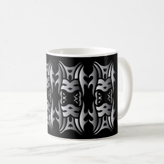 Tribal mug 11 congregation to over black