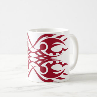 Tribal mug 18 network to over white