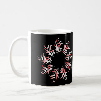 Tribal mug 2 network and white