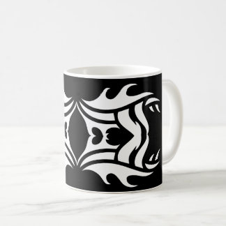 Tribal mug 3 black and white