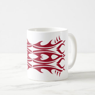 Tribal mug 4 network and white