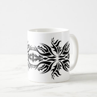 Tribal mug 5 black and white