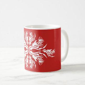 Tribal mug 6 one white to over network