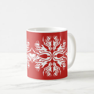 Tribal mug 6 white to over network