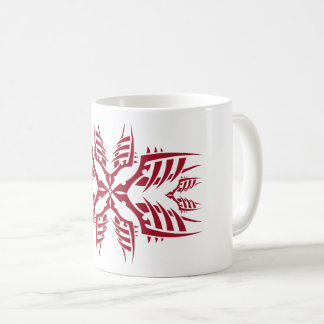 Tribal mug 7 network to over white