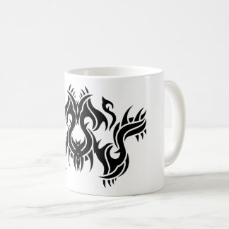 Tribal mug 9 black and white