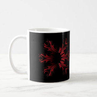 Tribal mug network and black