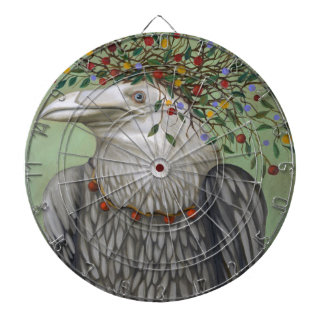 Tribal Nature Dartboard With Darts