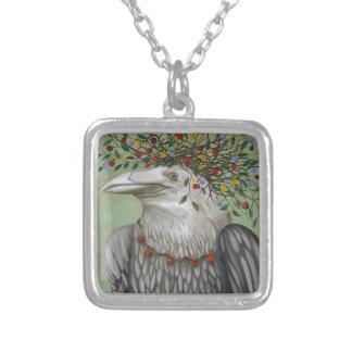 Tribal Nature Silver Plated Necklace