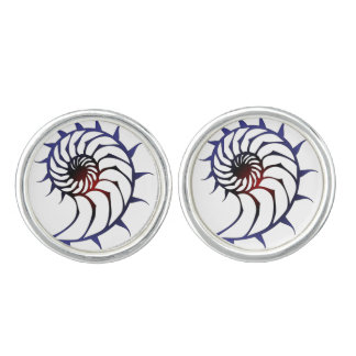Tribal Nautilus Cufflinks