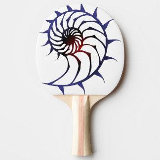 Tribal Nautilus Ping Pong Paddle