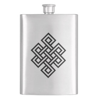Tribal nó infinite hip flask